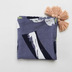 Linen Throw/Table Cloth   by Capra Designs