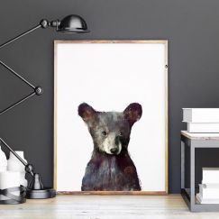 Little Bear by Amy Hamilton | Unframed Art Print