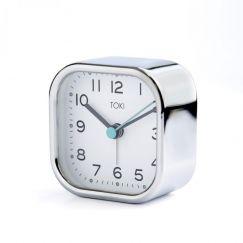 Liv Silent Alarm Clock | Chrome