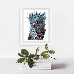 Lockie | Art Print by Grotti Lotti