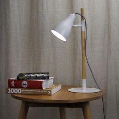 Lom Desk Lamp White