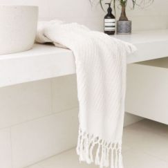 Loom Towels Ecru Bath Towel