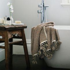 Loom Towels Sand Dune | Bath Mat | Wave