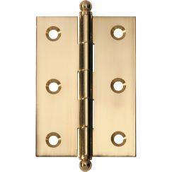 Loose Pin Hinge 8.5x6cm | Polished Brass | Schots