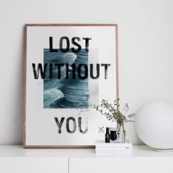 Lost Without You | Limited Edition Print | Framed or Unframed | by Blacklist