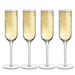Luigi Bormioli Sublime Champagne Flute | Set of 4