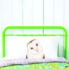 Luna the Barn Owl Pillowcase by For Me By Dee
