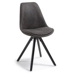 Lyra Dining Chair | Graphite