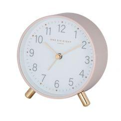 Maisie Blush Alarm Clock by One Six Eight London