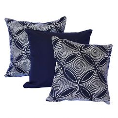 Malibu Navy | Sunbrella Fade and Water Resistant Outdoor Cushion