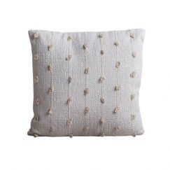 Mandalay Cushion | White | BY SEA TRIBE