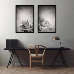 Mansion of the Sky | Set of 2 Art prints | Framed or Unframed