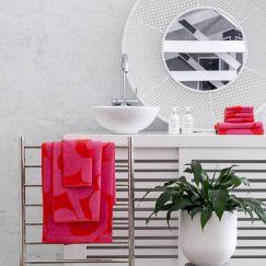 Marimekko Unikko Towel Set