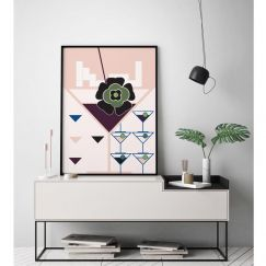 Martini's, Tetris & Dreams 2 | Limited Edition Unframed Print | by Arti Shah