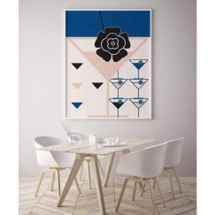 Martini's, Tetris & Dreams | Limited Edition Unframed Print | by Arti Shah