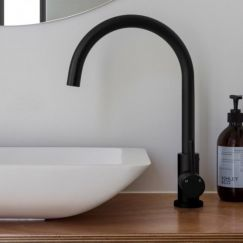 Matte Black Kitchen Mixer Tap | Modern