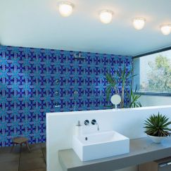 Maurimosaic Glass Mosaic Tile | Cruzado | Various Colours