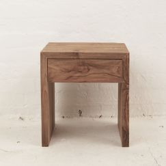 Mehdi Bedside Table with Drawer l Custom Made