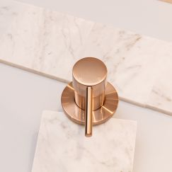Meir Round Champagne Wall Mixer
