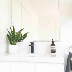 Meir Square Matte Black Bathroom Mixer Tap