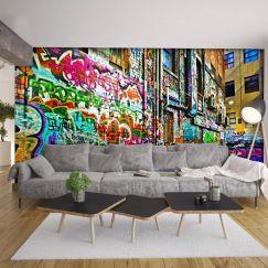 Melbourne Graffiti Laneway   Wallpaper
