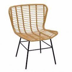 Menton Faux Rattan Chair