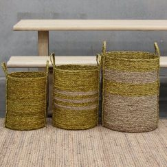 Merricks Storage Baskets | Set of 3 by SATARA