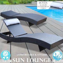 Milano Outdoor Sun Lounge | Single