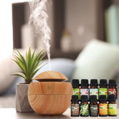Milano USB Diffuser with 10 Pack Diffuser Oils