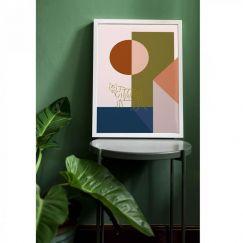 Minimal Series | Tiger in the Courtyard | Art Print | Various Sizes | Adele Naidoo