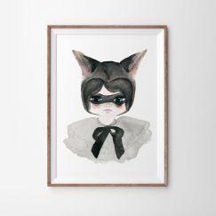 Miss Possum Art Print   Various Sizes