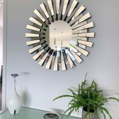 Modern Sunburst Mirror