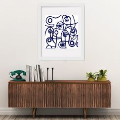 Modernist Blue | Limited Edition | Fine Art Giclee Print