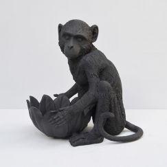 Monkey Bowl | Black | White Moose