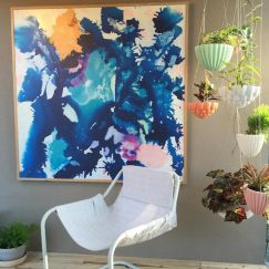 Moonlighter and Coral | Aluminium Indoor/Outdoor Artwork