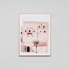 Moroccan Tower | Framed Photographic Print