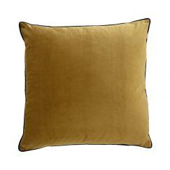 Mustard Oversize Velvet Cushion