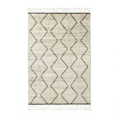 Nala Berber Knot Rug | Natural, Slate | Various Sizes