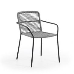 Nash Patio Chair | Grey | CLU Living