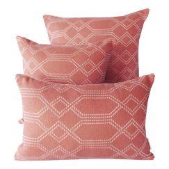 Navajo Guava | Sunbrella Fade and Water Resistant Outdoor Cushion