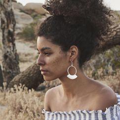 Nell Earrings Silver