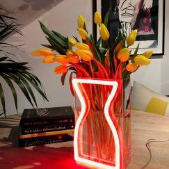 Neon Vase | Red