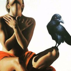 Nevermore by Trisha Lambi | Ltd. Edition Canvas Print | Art Lovers Australia