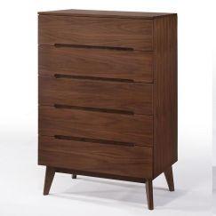 Njord Tallboy | Walnut | Modern Furniture