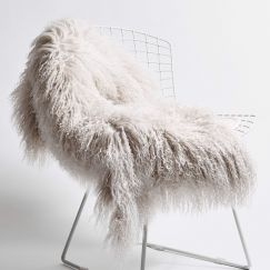 Nordic Pelt by Abode Living | Stone | Small