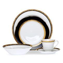 Noritake Regent Gold 20 piece Dinner Set