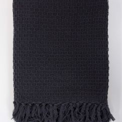 Nouvel Throw   Charcoal   Jamie Durie By Ardor