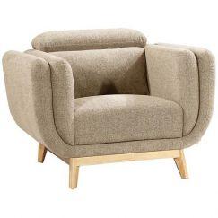 Noveau Lounge Chair | Almond | Modern Furniture