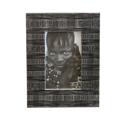 Obasi Photo Frame | Black | by Raw Decor