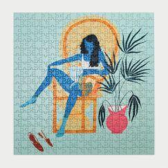 Okay Lady | She Chills | Mindful Jigsaw Puzzle 400 Piece